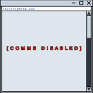 Comms Disabled Doorlog
