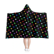 Space Party Hooded Blanket