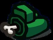 Verde cuerpo muerto
