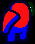 Tripulante durante matar (cuello)