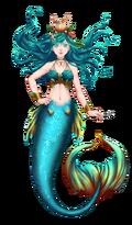 Traje Caribbean Mermaid 1