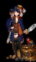 Traje Pirate's treasure 1