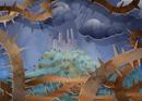 Devant le château maudit