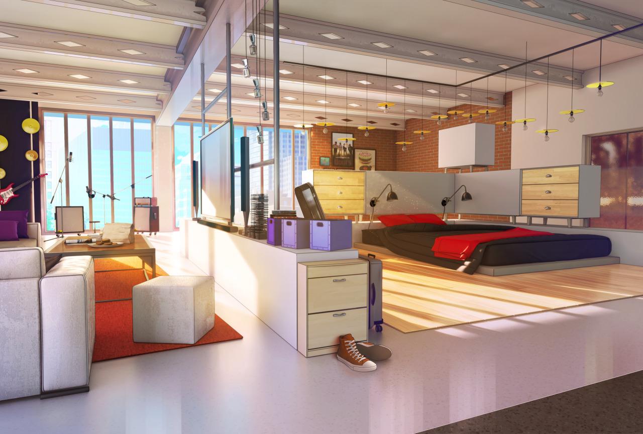 Chambre Castiel/Campus Life