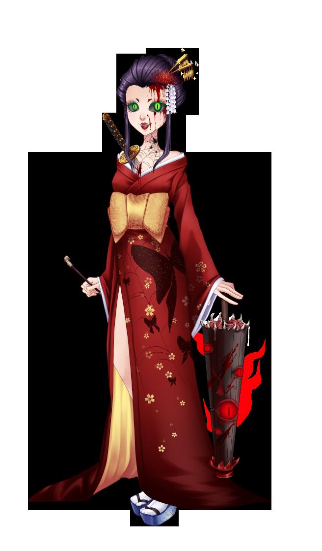 Geisha diabolique