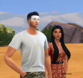 Elias&Laia1 byBook2Sims