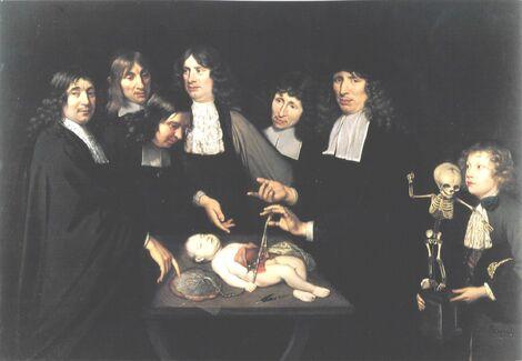 Jan van Neck. La lección de anatomía del Dr. Federick Ruysch. .jpg
