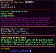 Warhorn of the Mark Artifact