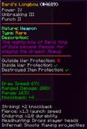 New Bard Longbow