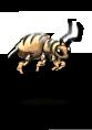 Giant bee queen