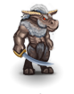 Ancient minotaur