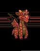Red dragon hatchling