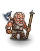 Grizzled dwarven veteran