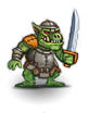 Antediluvian orc chieftain