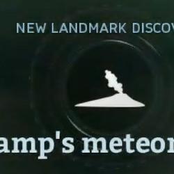 Swamp's meteorite site