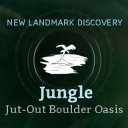 Jut-Out Boulder Oasis