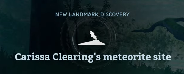 Carissa Clearing's meteorite site.png