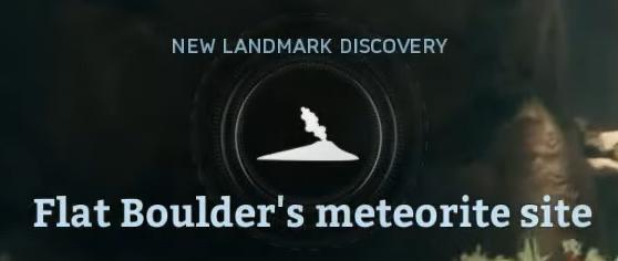 Flat Boulder's meteorite site.png