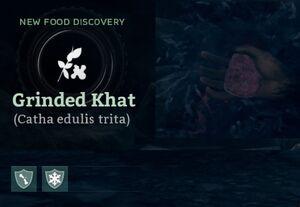 Grinded Khat (Catha edulis trita).jpg