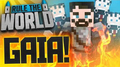 Minecraft Rule The World 48 - Gaia Guardian Battle!