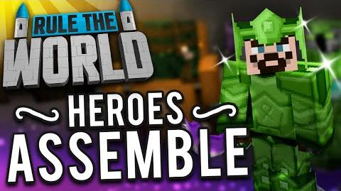 Minecraft Rule The World 17 - Heroes Assemble!