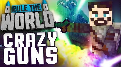 Minecraft Rule The World 39 - Crazy Mana Guns
