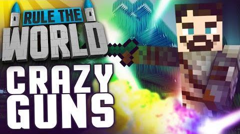 Minecraft Rule The World 39 - Crazy Mana Guns
