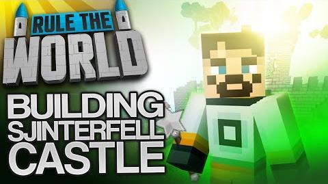 Minecraft Rule The World 59 - Sjinterfell Castle Build (Part One)