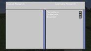 Research Station GUI - research queue selection