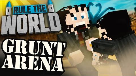 Modded Minecraft Rule The World 31 - Grunt Arena