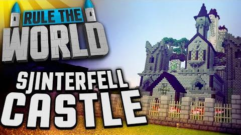 Minecraft Rule The World 61 - Sjinterfell Castle Build (Part Two)