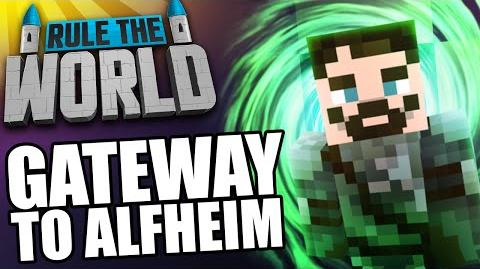 Modded Minecraft Rule The World 42 - Building the Gateway