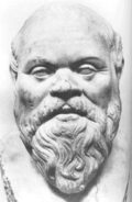 Sculpture of Socrates