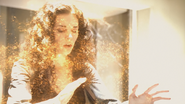 Siara merging with the Gol-Rashen S04xE08 Conduit to Destiny