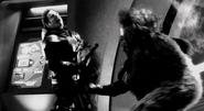Magog slaughtering Andromeda's crew