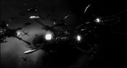 Magog Swarm attacking Andromeda during Magog-Commonwealth War
