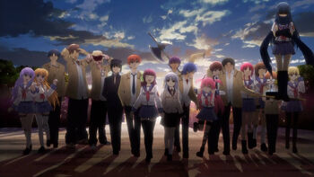 The SSS in the final ending sequence.