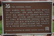 Byrhtnoth's Plaque - geograph.org.uk - 1462906