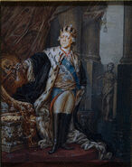 Emperor Paul in the Crown of the Grand Master of the Order of Malta