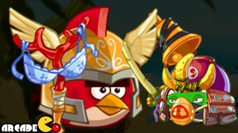 Angry Birds Epic NEW Boss Red Birds - CAVE 5 Burning Plain Level 3