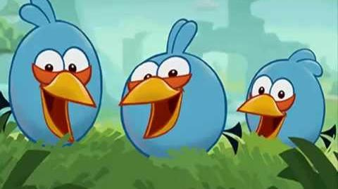 The BLUES Music Angry Birds Toons