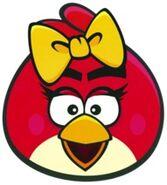 Красная птица девочка