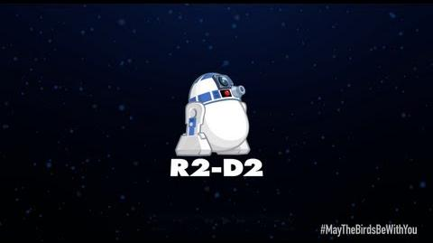 Angry Birds Star Wars 2 character reveals R2-D2