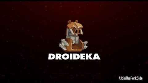 Angry Birds Star Wars 2 character reveals Droideka