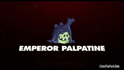 Angry Birds Star Wars 2 character reveals Emperor Palpatine