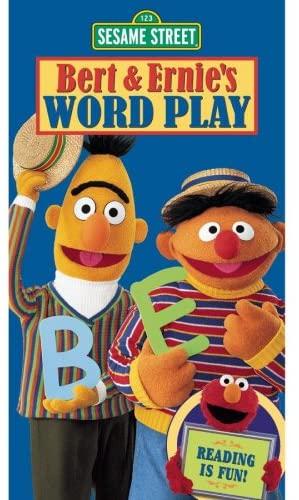 Sesame Street: Bert & Ernie's Word Play (2002 VHS)