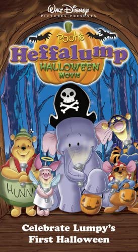 Pooh's Heffalump Halloween Movie (2005 VHS)