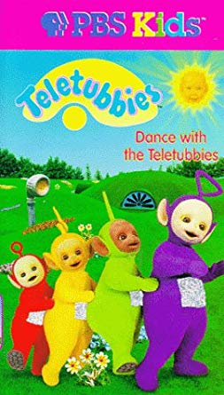 Teletubbies: Dance With The Teletubbies (1998 VHS)