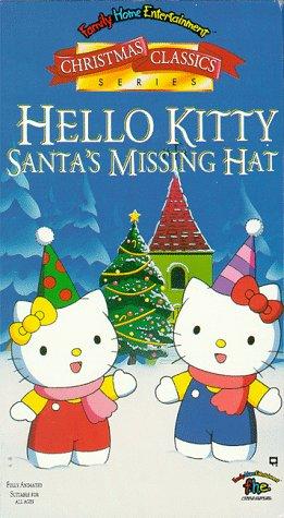 Hello Kitty: Santa's Missing Hat (1995-1996 VHS)