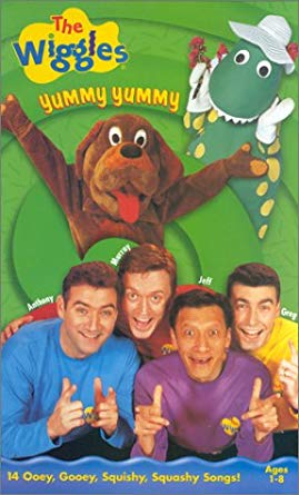 The Wiggles: Yummy Yummy (1999 VHS)